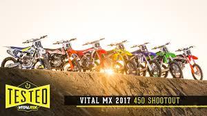 2017 Vital Mx 450 Shootout Motocross Feature Stories