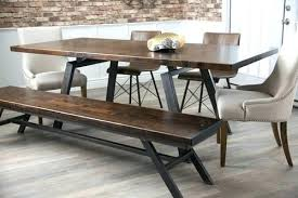 industrial kitchen table furniture.  Table Industrial Kitchen Table And Benches Lofty Dining Room Ideas Modern Design  Furniture Metal Legs   For Industrial Kitchen Table Furniture