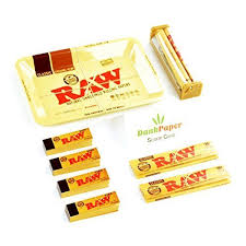 Papers Paper Raw Classic Natural Unrefined Rolling Papers Starter Bundle Mini Tray King Size Papers Tips And Dank Paper Scoop Card