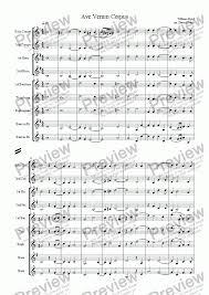 ave verum corpus sheet music ave verum corpus byrd download sheet music pdf file