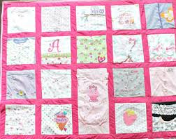 Baby clothes quilt | Etsy & Baby clothes Quilt, Memory quilt, Custom quilt using baby clothes,  Repurposed & Upcycled Adamdwight.com