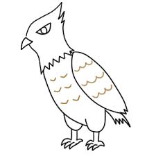 鷹の書き方 イラストを簡単に初心者でも描くコツは イラストの簡単な