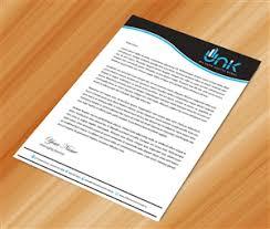 Letterhead Letter Letterhead Design Custom Letterhead Design Service