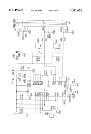 patent us5541623 temperature compensated opto electronic circuit patent drawing