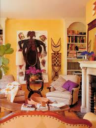 Afrocentric Living Room Living Room Interior Designs With African Theme African Wall Art