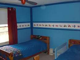 cool ideas of tween bedroom ideas for boys designed by double brown wooden couch with blue