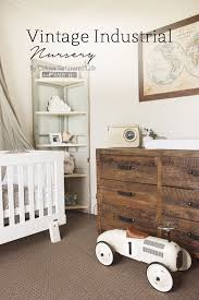 retro baby furniture. colour saturated life vintage industrial nursery i am in love with this retro baby furniture o