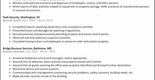 Security Guard Resume 100 Unique Collection Of Resume Format For Security Guard Resume 97
