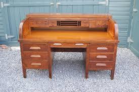 national oak roll top desk 1917