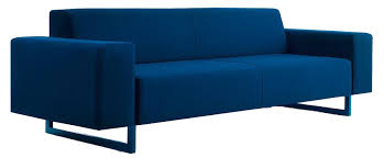 moon wide and low arm small sofa by