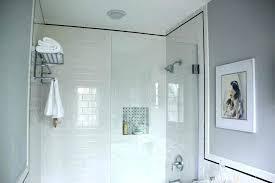 beveled subway tile edge tiles pewter grout main bathroom shower pattern decor ideas