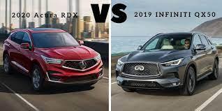 2021 Acura Rdx Vs Infiniti Qx50 Design And Review In 2021 Acura Rdx Acura Infiniti