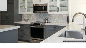gray and white kitchen backsplash modern gray white cabinets quartz kitchen tile white kitchen cabinets with gray subway tile backsplash