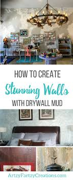 how to create stunning walls with drywall mud by cheryl phan faux finish ideas