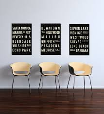 awesome california photography print set los angeles large in los angeles wall art popular