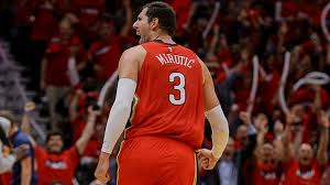 nikola mirotic. Modren Nikola Bulls In The Playoffs Nikola Mirotic Canu0027t Miss And Pelicans Are Up 30 Inside O
