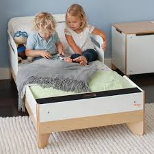 modern toddler bed. Beautiful Bed Little Modern  Toddler Bed With R