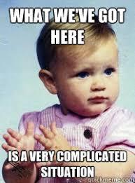 Complicated situation memes | quickmeme via Relatably.com