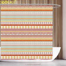 catchy red and tan curtains and tan striped curtains promotion for promotional tan striped