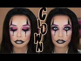 clown makeup tutorial easy saubhaya