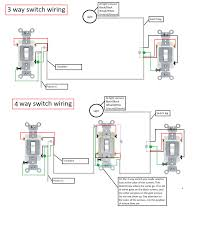 Three Way Connection Lights Electrical Light Switch Hookup Wiring Diagram Fan And Light