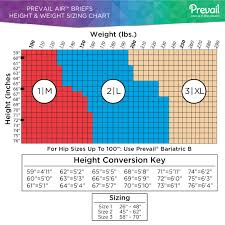 Prevail Breezers 360 Size Chart Amazon Com Prevail Adult Briefs Diapers