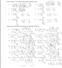 identifying quadratic equations worksheet pdf equation practice with answers solving using square root method solve