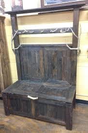 Wooden Coat Rack With Bench Bradley's Furniture Etc Cabin Accessories 40
