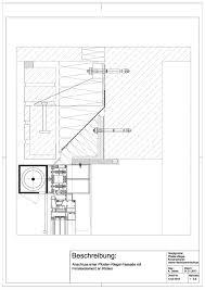 A 02 0018 Anschluss Einer Pfosten Riegel Fassade Mit Fensterelement