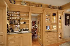 Perfect Custom Kitchen Cabinet Makers Built In Coffee Maker Reviews Traditional Intended Design Ideas