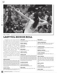2012 Volleyball Record Book by The University of Tennessee Athletics  Department - issuu