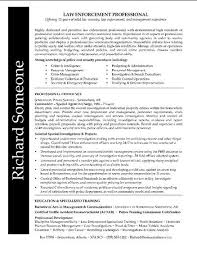 Law Enforcement Resume Fascinating Pin By Job Resume On Job Resume Samples Pinterest Federal Law