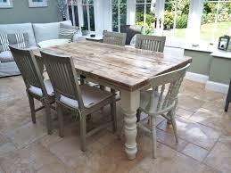 image of farmhouse kitchen table sets