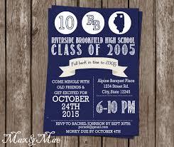 Class Reunion Invitations Templates High School Reunion Invitation College Reunion Class Of 3