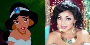 how to do princess jasmine s makeup aladdin makeup and costume tutorial