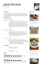 Sous Chef Resume Template Delectable Sous Chef Resume Samples VisualCV Resume Samples Database