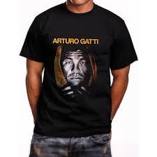 New Arturo Gatti Boxing Poae Short Sleeve Mens Black T Shirt Size S To 5xlfunny Free Shipping Unisex Casual Tshirt