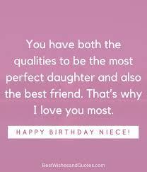 Happy Birthday To My Niece Quotes Gorgeous Happy Birthday Niece 48 Unique Messages That Say Happy Birthday