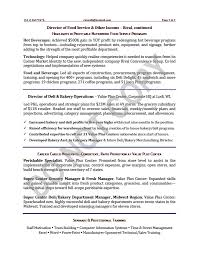 Operations Resume Examples Executive Resume Sample Vice President Executive Resume