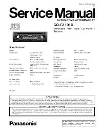 panasonic_cq c1101u.pdf_1 panasonic cq c1101u service manual download, schematics, eeprom on panasonic cq c1101u wiring diagram