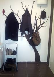Homemade Coat Rack Tree DIY Amazing Coat Racks Projects 13
