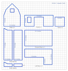 handmade toy wooden barn a diy project with the plan template