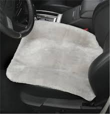 genuine sheepskin seat cushion pad