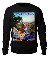 Свитшот унисекс хлопковый Парк Гуэль <b>Барселона</b> #2518466 от ...