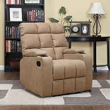 Microfiber Recliner Storage Arm Cup Holder Wall Hugger Brown This Will  Make A Great Additional Recliner With Cup Holder And Storage Amazoncom76