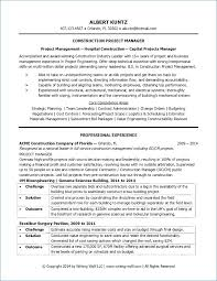 Construction Resume Sample Luxury Project Coordinator Resume