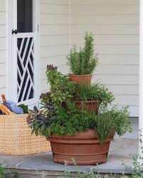 Insanely Cool Herb Garden Container Ideas  The Garden GloveContainer Herb Garden Plans