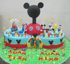 Mickey Mouse Clubhouse Birthday Cake Cupcake Divinity Mickey Mouse