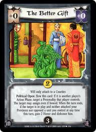 The most common pattern worldwide and the only. The Better Gift Card L5r Legend Of The Five Rings Wiki Fandom