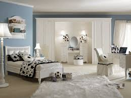 Paint Color For Teenage Bedroom Captivating Bedroom Idea For Teenage Girl With Blue Wall Paint
